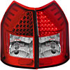 Anzo 321015 - Anzo Red/Clear LED Taillights