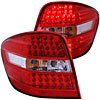 Anzo 321053 - Anzo Red/Clear LED Taillights