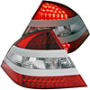 Anzo 321086 - Anzo Red/Clear LED Taillights