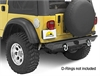 Bestop 42902-01 - Bestop HighRock 4 x 4 Rear Bumpers