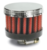 Airaid 775-134 - AirAid Chrome Top Crankcase Breather Filters