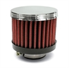 Airaid 775-490 - Airaid Chrome Top Crankcase Breather Filters