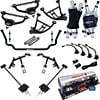 Ridetech 11170399 - Ridetech 1970-81 Camaro/Firebird Air Suspension System