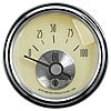Auto Meter 2027 - Auto Meter Prestige Antique Ivory Gauges