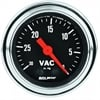 Auto Meter 2484 - Auto Meter Traditional Chrome Gauges