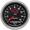 Auto Meter 3644-00406 - Auto Meter Officially Licensed GM Gauges