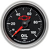 Auto Meter 3653-00406 - Auto Meter Officially Licensed GM Gauges