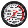 Auto Meter 5828-00406 - Auto Meter Officially Licensed GM Gauges