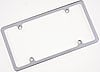 Billet Specialties 55120 - Billet Specialties License Plate Frames