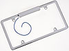 Billet Specialties 55220 - Billet Specialties License Plate Frames