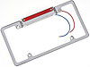 Billet Specialties 55520 - Billet Specialties License Plate Frames