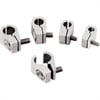 Billet Specialties 65110 - Billet Specialties 2-Piece Line Clamps