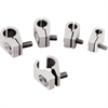 Billet Specialties 65510 - Billet Specialties 2-Piece Line Clamps