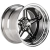 Billet Specialties #BRS03580614 - Billet Specialties Street Lite Black Anodized Wheels