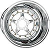 Billet Specialties CSB035126160 - Billet Specialties Comp 5 Polished SFI Drag Wheels