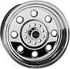 Billet Specialties RS085800245N - Billet Specialties Performer Billet Race Wheel