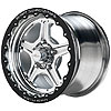 Billet Specialties RSB351F6175N - Billet Specialties Street Lite Wheels