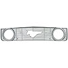 CCI IWCGI/27 - CCI Chrome Overlay Grilles for Cars