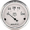 Auto+Meter 1628 - Auto Meter Old Tyme White Gauges