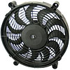Derale 16212 - Derale High Output Single RAD Push & Pull-Style Electric Fans