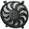 Derale 16214 - Derale High Output Single RAD Push & Pull-Style Electric Fans