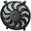 Derale 18212 - Derale High Output Single RAD Push & Pull-Style Electric Fans