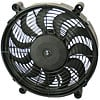 Derale 18214 - Derale High Output Single RAD Push & Pull-Style Electric Fans