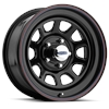 Cragar 342-8960 - Cragar Black ''D'' Window Steel Wheels