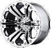 American Racing 77889043212N - KMC XD778 Series Monster Chrome Finish Wheels
