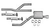 Dynomax 39519 - Dynomax Bolt-On Exhaust Systems for Truck/SUV