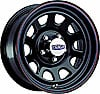 Cragar #342-5764P - Cragar Black ''D'' Window Steel Wheels