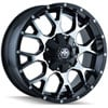 Mayhem-8015-Warrior-Series-Black-w-Machined-Face-Finish-Wheels
