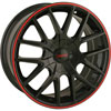 Touren-3260-TR60-Series-Black-w-Red-Ring-Wheels