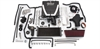 Edelbrock 1576 - Edelbrock E-Force Supercharger Kits for Corvette LS2/LS3/LT1/LT4