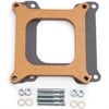 Edelbrock 8724 - Edelbrock Carburetor Spacers - Wood Design