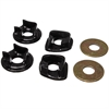 Energy Suspension 16-1104G - Energy Suspension Motor Mount Inserts for Acura/Honda