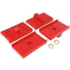 Energy Suspension 3-6111R - Energy Suspension Leaf Spring Pads