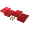 Energy Suspension 3-6112R - Energy Suspension Leaf Spring Pads