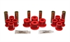 Energy Suspension 4-2122R - Energy Suspension Front & Rear Leaf Spring Bushings
