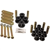 Energy Suspension 4-2135G - Energy Suspension Shackle Set
