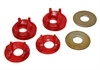 Energy Suspension 5-1103R - Energy Suspension Motor Mount Inserts for Mitsubishi