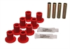 Energy Suspension 5-2102R - Energy Suspension Front & Rear Leaf Spring Bushings