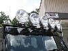 N-FAB J075TLR - N-Fab Front & Windshield Mount Light Bars for Jeep