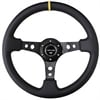 NRG Innovations ST-006R-BK-Y - NRG Innovations Deep Dish Steering Wheels