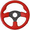 NRG Innovations ST-012RR-BS - NRG Innovations Race Series Steering Wheels