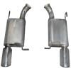 Gibson 319010 - Gibson American Muscle Car Cat-Back Exhaust Systems