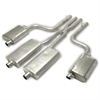 Gibson 617008 - Gibson American Muscle Car Cat-Back Exhaust Systems