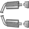 Gibson 618002 - Gibson Performance Replacement Mufflers
