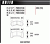 Hawk HB119Y.594 - Hawk LTS Light-Truck and SUV Brake Pads