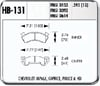 Hawk HB131W.595 - Hawk DTC-30 Circle Track Brake Pads